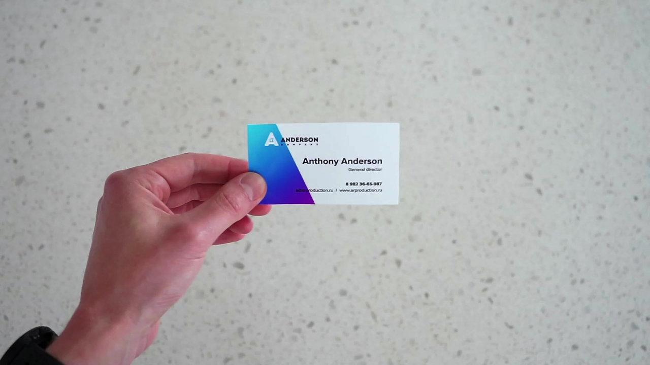 Живые визитки