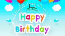 Joy1.org Happy Birthday Background NO COPYRIGHT Music
