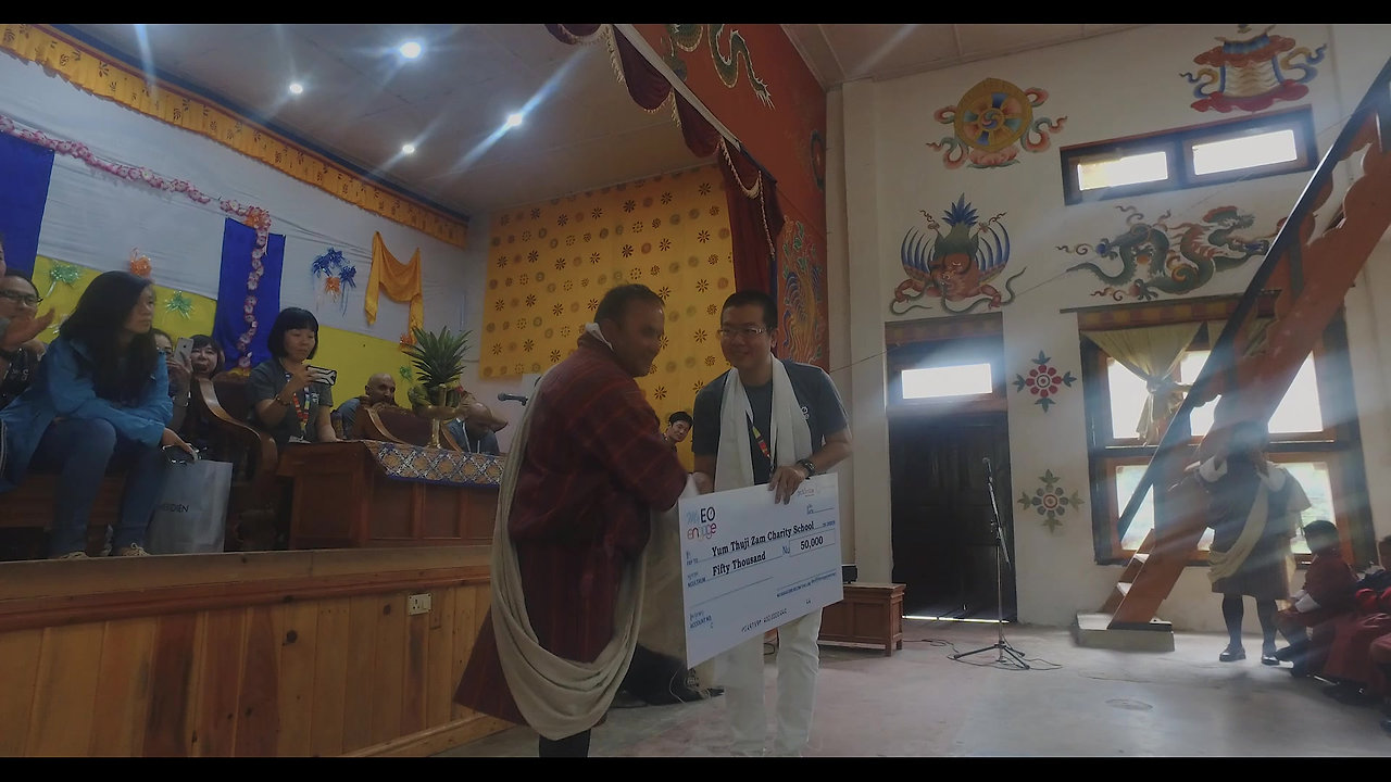 What happened in MyEO Engage Bhutan 2017