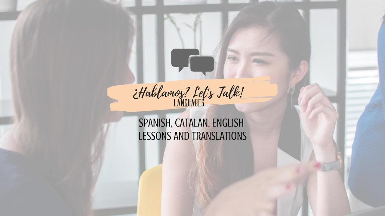 Discover ¿Hablamos? Let's Talk!