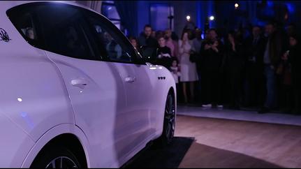 Soirée présentation Maserati Troféo