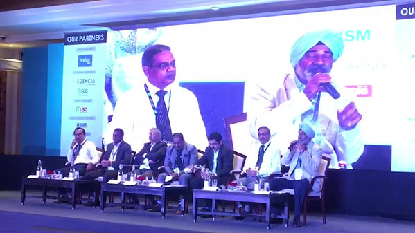 Address as part of a panel on logistics and Supply Chain at New Delhi in 2018