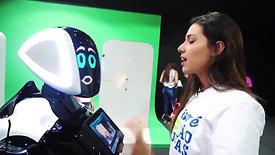 Робот разговаривает на 10 языках