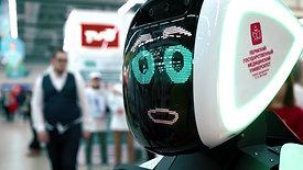 Робот заранее готовится к мероприятию