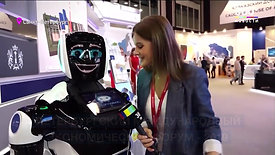 Робот гарантированно оказывается в центре внимания