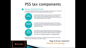 PSS defined benefits