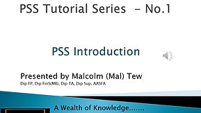 1. PSS introduction
