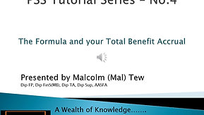 4. The formula and Total Benefit Accrual