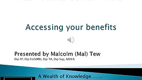 5. Accessing your benefits