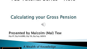 6. Calculating your Gross Pension