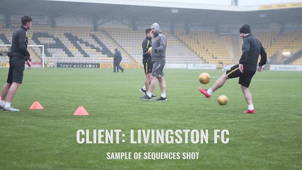 Livingston FC footage.