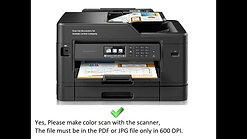 Scan PDF file or JPG Photo