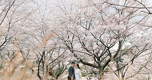 KYOTO in the forest- elopement / destination wedding scene