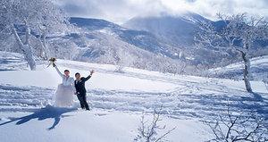 HOKKAIDO- Elopement / destination wedding scenes