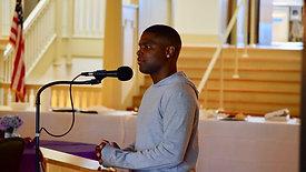 Kuntrell Jackson talks to YREC scholars...