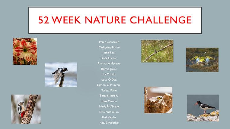 52 Week Nature Challenge