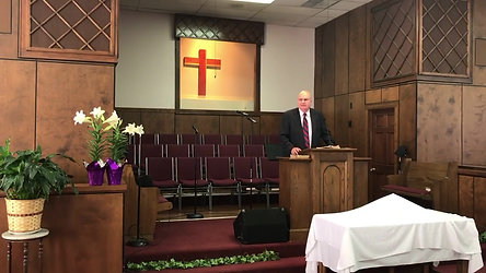 Pastor Brooks, April 11, 2021