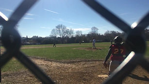 Moretti hits during Thanksgiving Weekend (2017) game!
