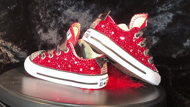 Toddler Bling Chuck Taylor's