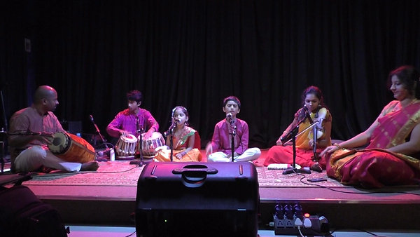 Akshatha & Ananth performing at Panchnama, the annual Indian Program showcase
