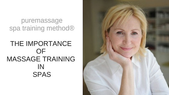 Importance of massage training in spas
