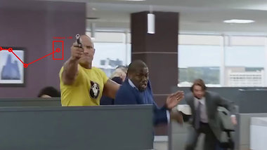 Central Intelligence: Action Scene