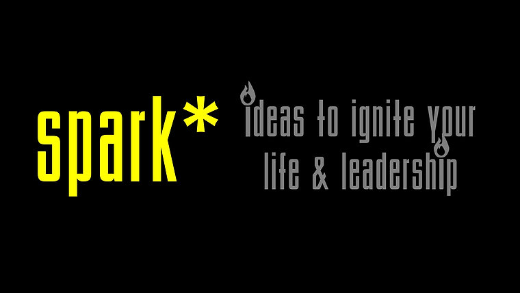 spark* - Ideas to Ignite Your Life & Leadership