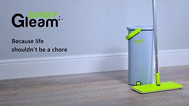EasyGleam Flat Mop & Bucket