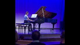 Lena performs Scarlatti Sonata K159