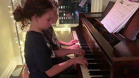 Cielo and Gordon Sibling Duet Improvisation
