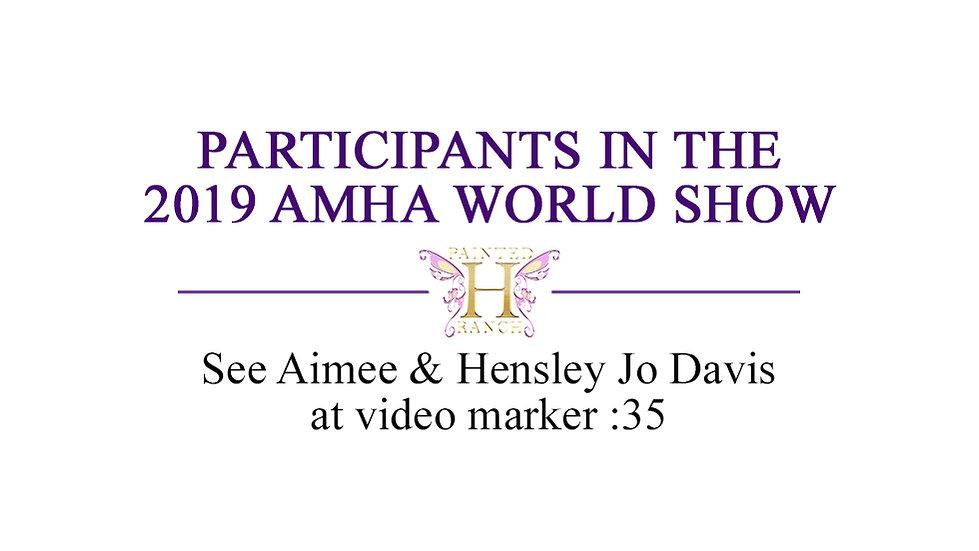 AMHA World Show Invitation