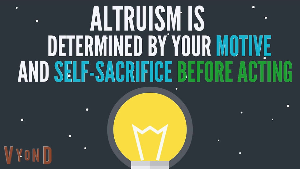 What is Altruism