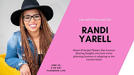 In conversation with Randi Yarrell