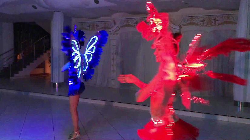 Световое шоу на Новый год в Самаре и Тольятти
