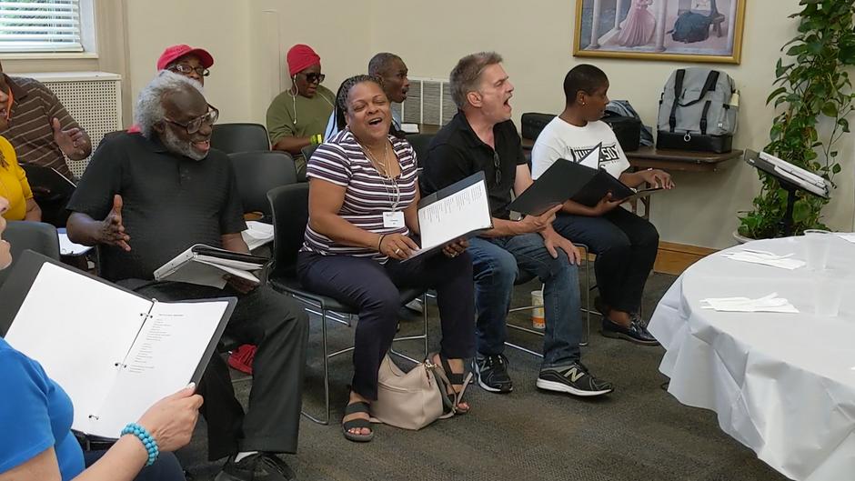 Choir at Chicago Help Initiative
