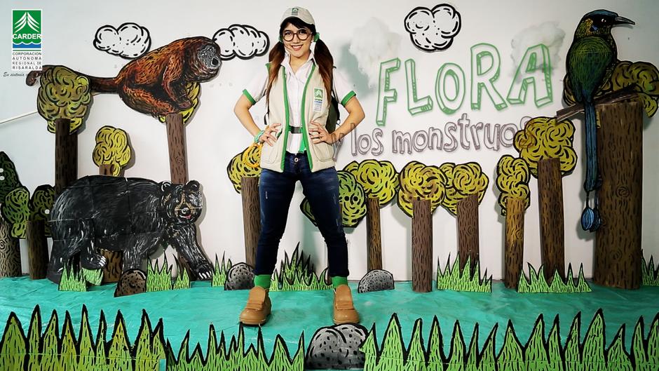 FLORA Y LOS MONSTRUOS