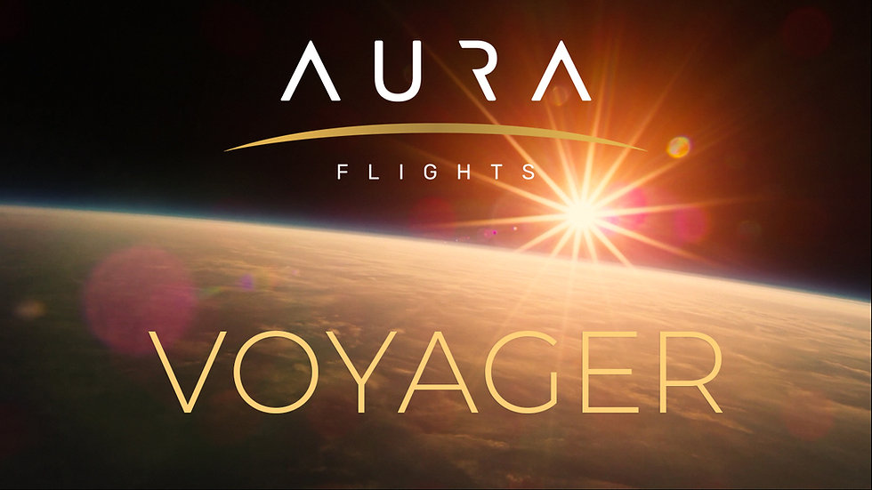 Voyager space funeral from Aura Flights (Subtitled)