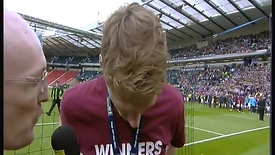 Tearful Cup Final Interview - 2012