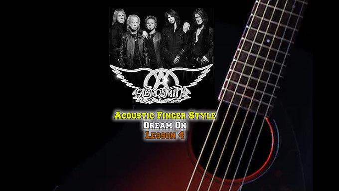 Aerosmith Dream On Lesson 4