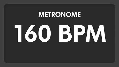 160 BPM   Metronome