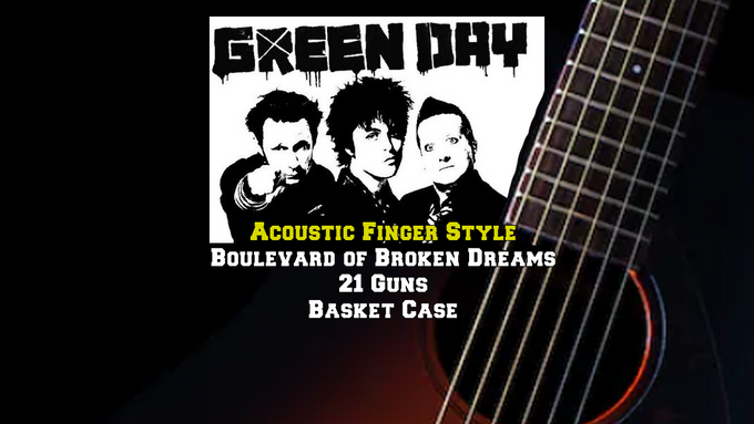 Green Day Acoustic Finger Style