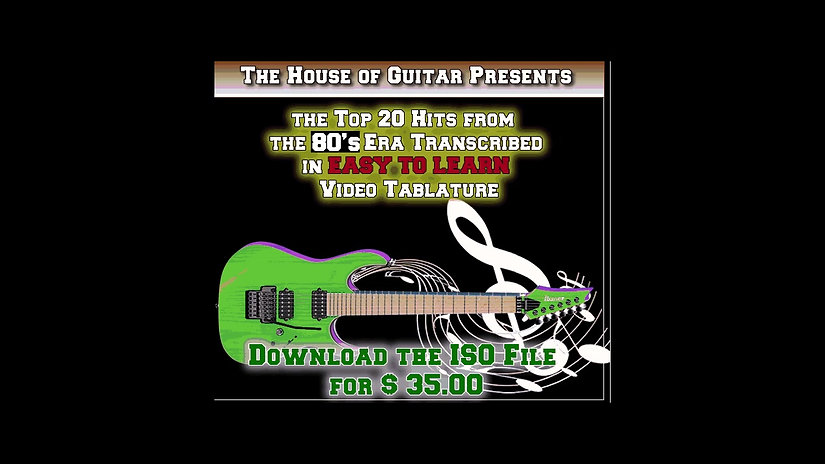 Top 20 Guitar Hits from the 1980's
