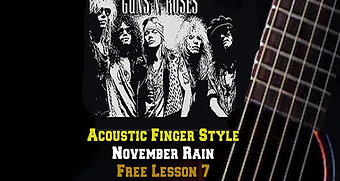 Guns and Roses November Rain Lesson 7