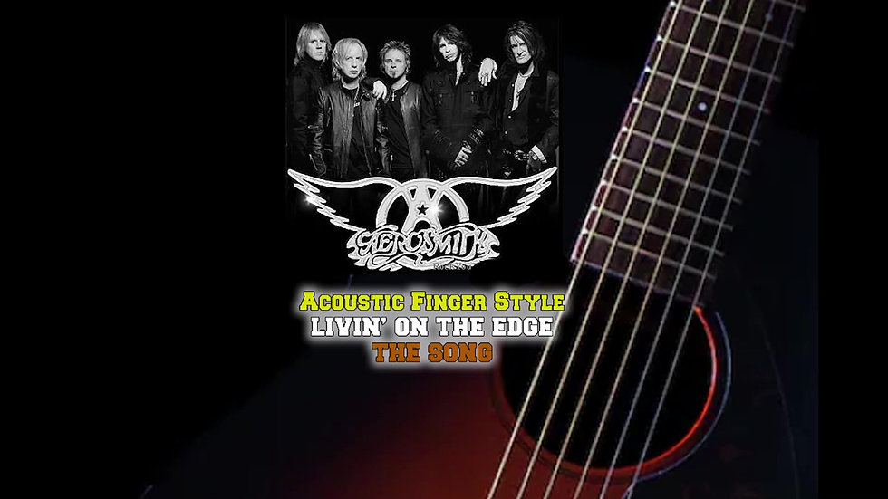 AeroSmith Living on the Edge