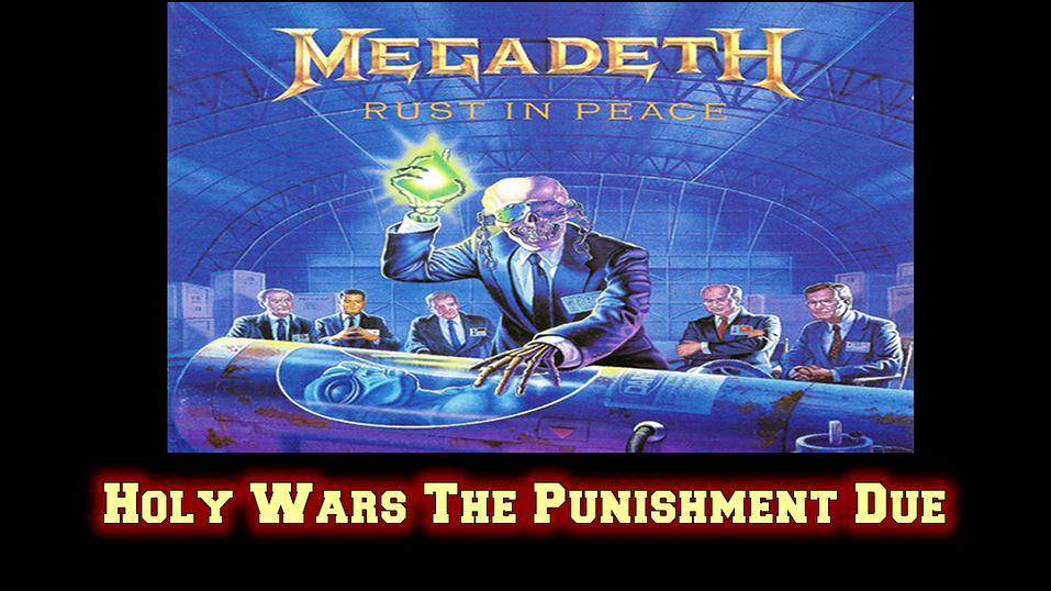 Megadeth Holy wars