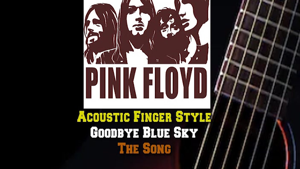 Pink Floyd Goodbye Blue Sky