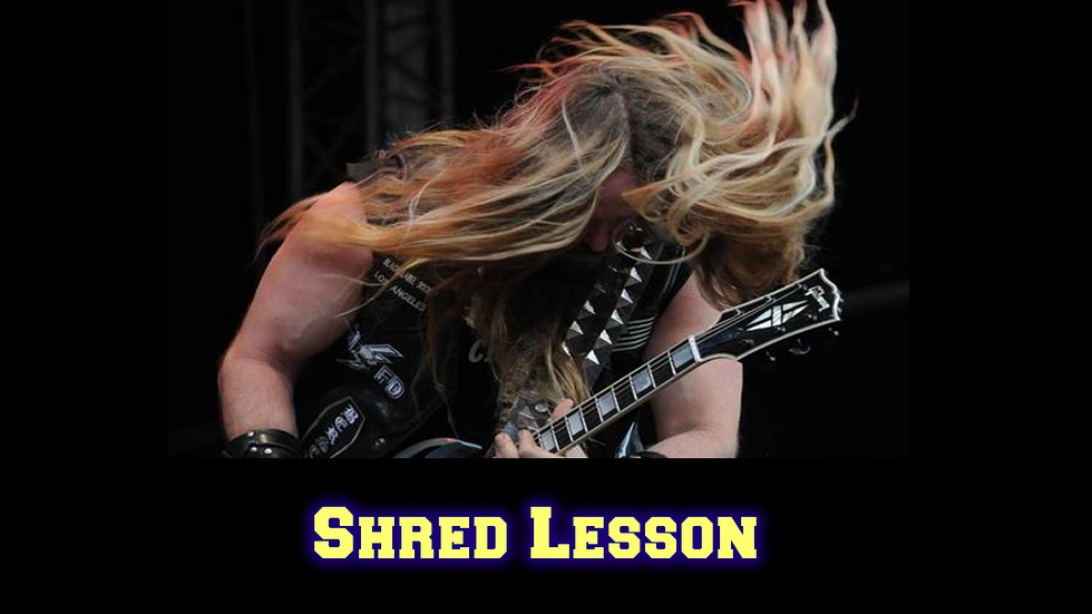 Shred Lesson