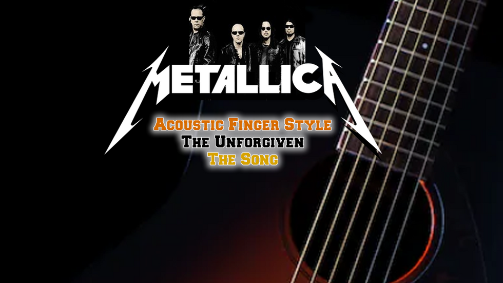 Metallica The Unforgiven