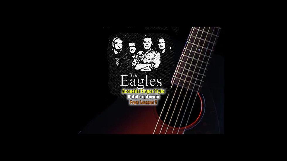 The Eagles Hotel California Lesson 2