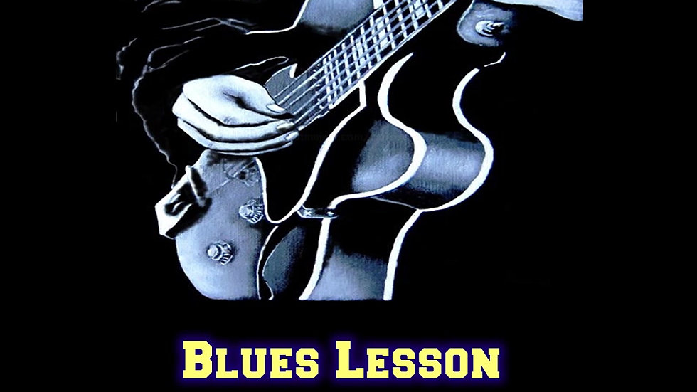 Blues Lessons